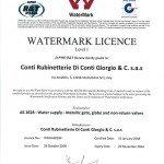 watermark sertifikası